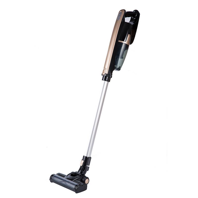 Wireless hand-held vacuum cleaner