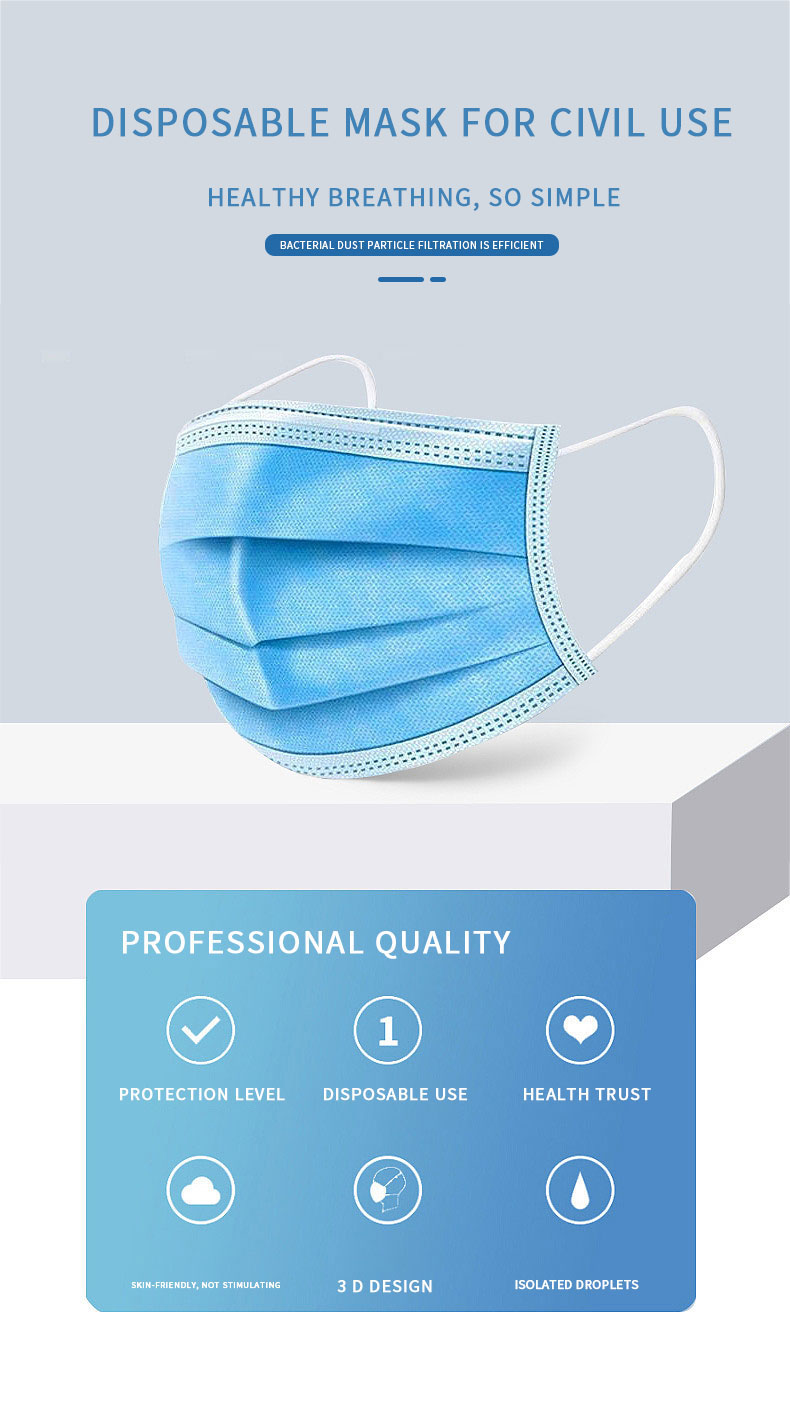 earloop face mask best factory price fast delivery-1