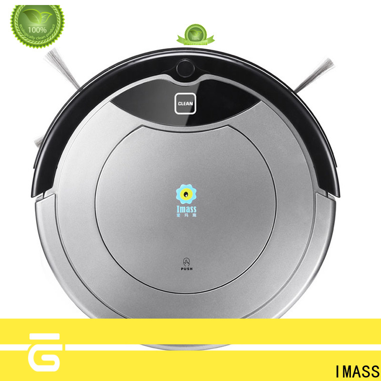 IMASS silent robotic vacuum cleaner factory price for housework