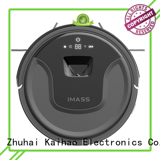 IMASS silent pet robotic vacuum room sweeper house appliance